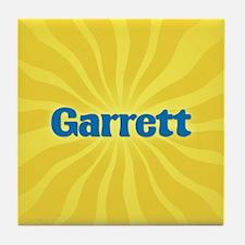 Garrett Sunburst Tile Coaster