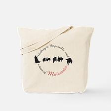 Alaskan Malamute team Tote Bag