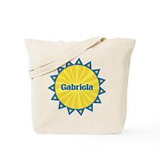 Gabriela Sunburst Tote Bag
