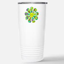 Cool Flower Power Travel Mug