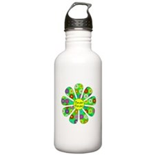 Cool Flower Power Water Bottle