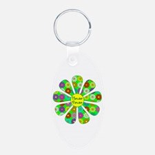 Cool Flower Power Keychains