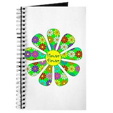 Cool Flower Power Journal