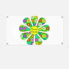 Cool Flower Power Banner