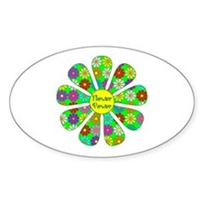 Cool Flower Power Decal