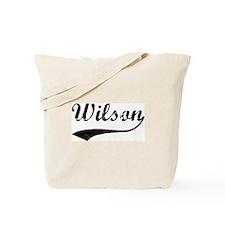 Vintage: Wilson Tote Bag