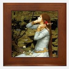 Waterhouse Ophelia Framed Tile