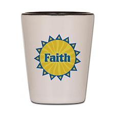 Faith Sunburst Shot Glass