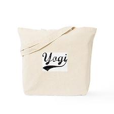 Vintage: Yogi Tote Bag