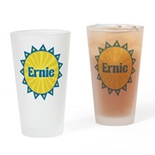 Ernie Sunburst Drinking Glass