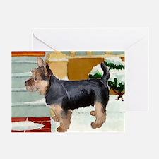 Australian Terrier Greeting Card