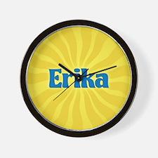 Erika Sunburst Wall Clock