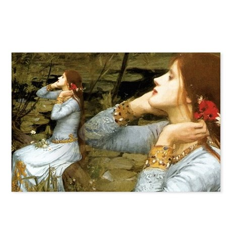 Waterhouse Ophelia Postcards (Package of 8)