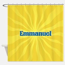 Emmanuel Sunburst Shower Curtain
