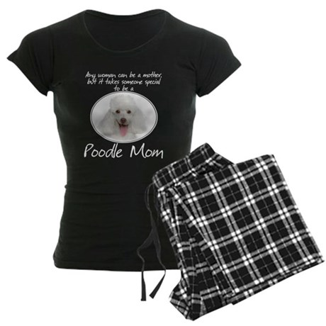 Poodle Mom Women's Dark Pajamas