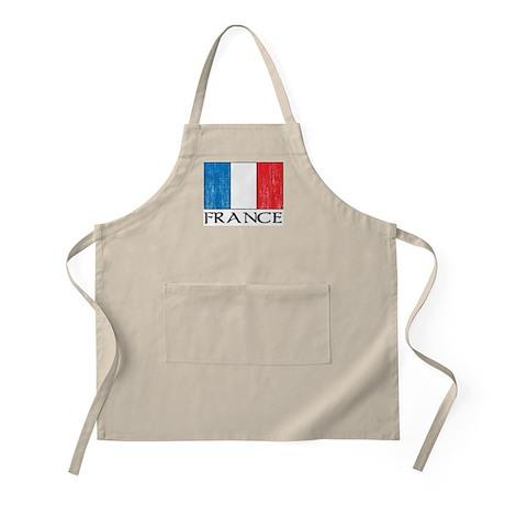 France Flag BBQ Apron
