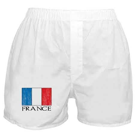 France Flag Boxer Shorts