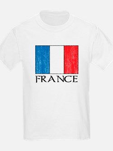 France Flag Kids T-Shirt