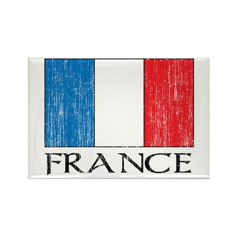 France Flag Rectangle Magnet