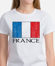 France Flag Women's T-Shirt
