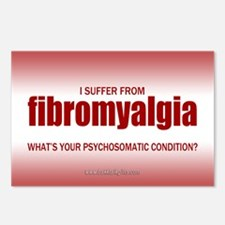 Fibromyalgia... Postcards (Package of 8)