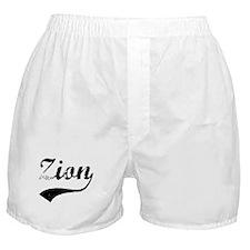 Vintage: Zion Boxer Shorts