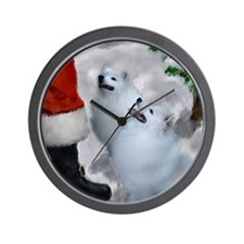 American Eskimo Dog Wall Clock