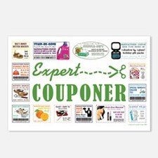 EXPERT COUPONER Postcards (Package of 8)