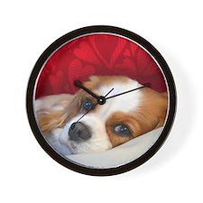 Blenheim Cavalier King Charles Spaniel Wall Clock