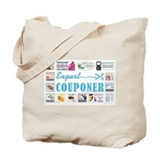 EXPERT COUPONER Tote Bag