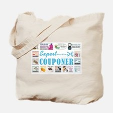 EXPERT COUPONER Tote Bag