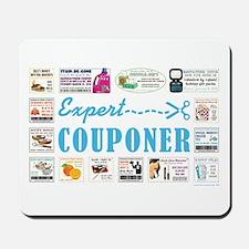 EXPERT COUPONER Mousepad