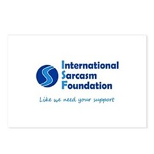 International Sarcasm Foundation Postcards (Packag
