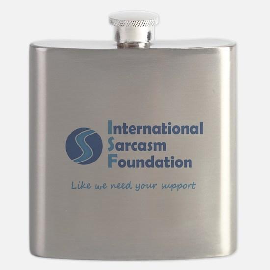 International Sarcasm Foundation Flask