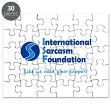 International Sarcasm Foundation Puzzle