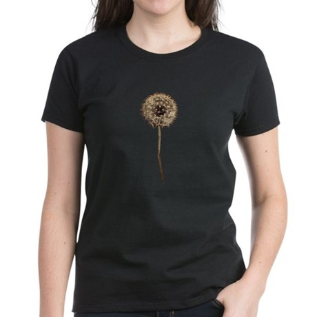 Dandelion Women's Dark T-Shirt