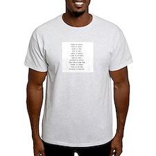 Rhyming journeys T-Shirt