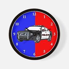 Police Cruiser Wall Clock