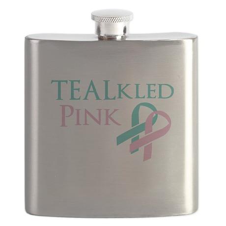 TEALkled Pink Flask