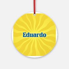 Eduardo Sunburst Ornament (Round)