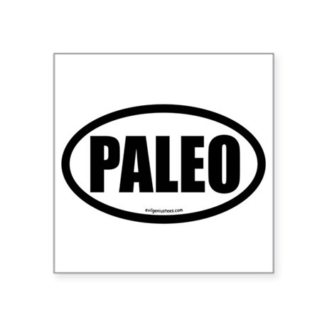 Paleo auto decal Sticker