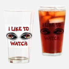WATCHING EYES Drinking Glass