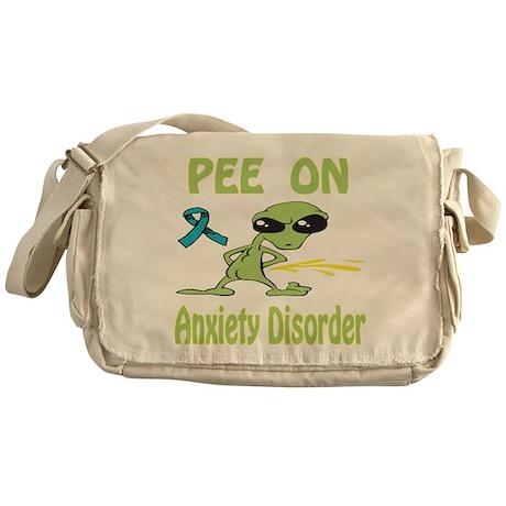 Pee on Anxiety Disorder Messenger Bag