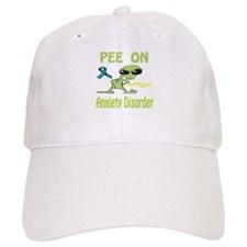 Pee on Anxiety Disorder Baseball Cap