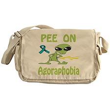 Pee on Agoraphobia Messenger Bag