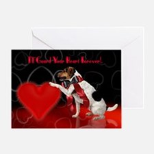 Cute Jack Russell Valentine's Day Card
