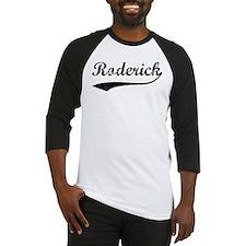 Vintage: Roderick Baseball Jersey