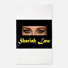 SHARIAH LAW 3'x5' Area Rug