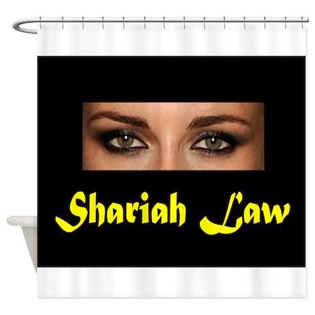 SHARIAH LAW Shower Curtain