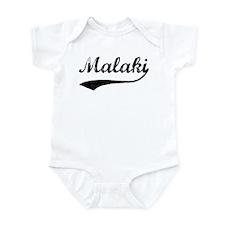 Vintage: Malaki Infant Bodysuit